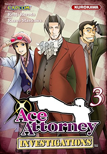 Couverture Ace Attorney Investigations tome 3