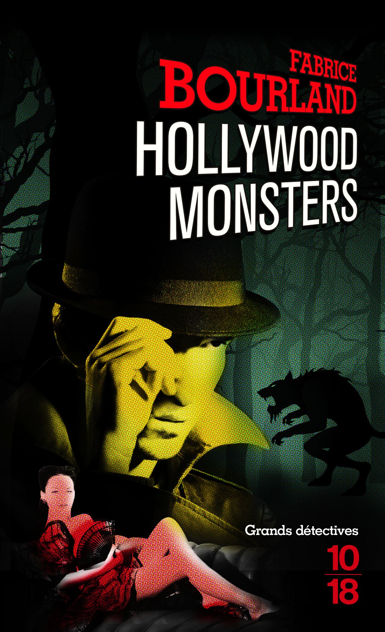 Couverture Hollywood Monsters