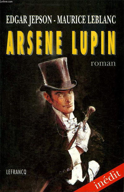 Couverture Arsène Lupin