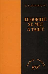 Couverture Le Gorille se met à table