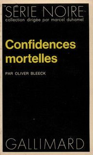 Couverture Confidences mortelles